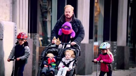 Jim Gaffigan is busy adulting; not house cleaning.